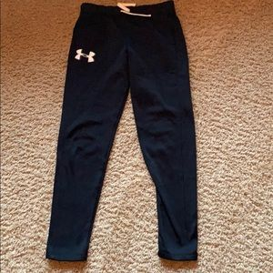 Girls Under Armour warm up pants